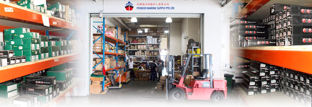 Stockist for marine equipment and ship building supplies | Leading